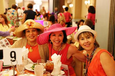 fun at the BBFC Luncheon