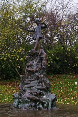 Peter Pan Sculpture in Hyde Park