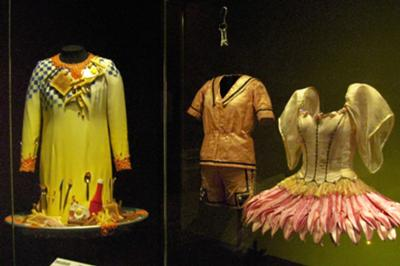 Dame Edna's Dress and other theatrical costumes