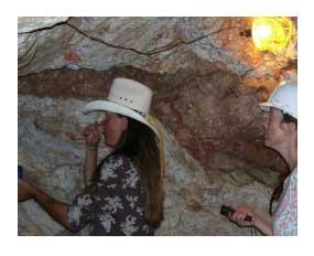 inside an Arizona gold mine