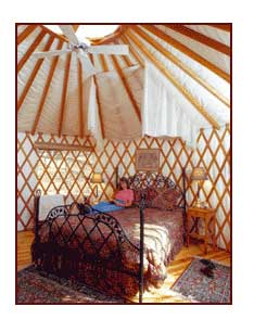 glamping in a