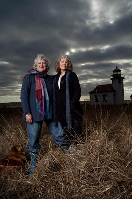 Charlotte and Susan are glad to host your Vashonian experience
